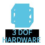 3 dof hardware