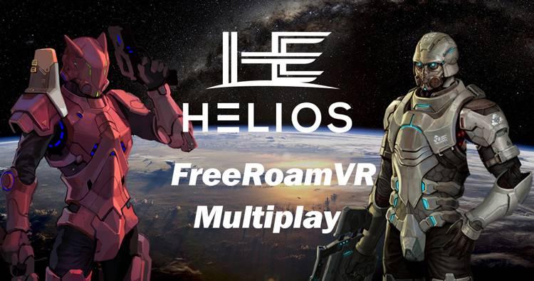 VR Big Space Games,Helios , Free Roam VR Multiplay