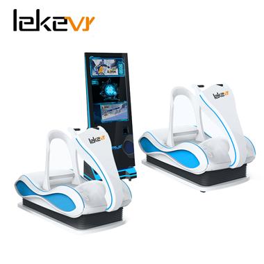 2 Player Virtual Reality Skiing Simulator