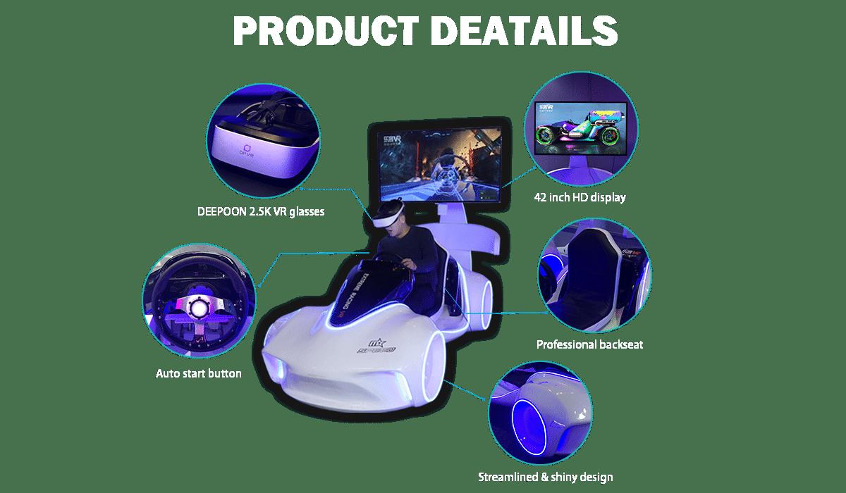 vr car product details